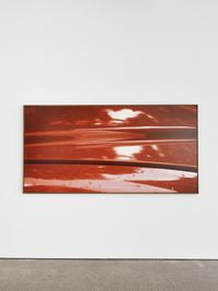 S1 Horizontal by Jan Dibbets contemporary artwork painting, works on paper, drawing