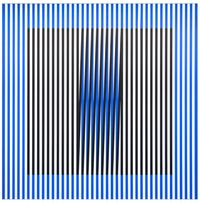 Induction du Jaune N°211 by Carlos Cruz-Diez contemporary artwork painting