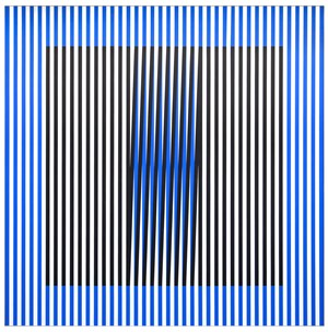 Induction du Jaune N°211 by Carlos Cruz-Diez contemporary artwork