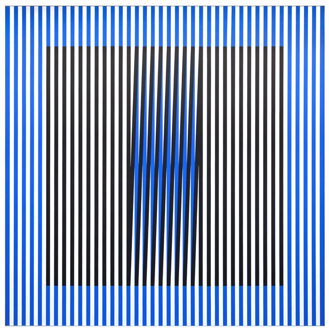 Induction du Jaune N°211 by Carlos Cruz-Diez contemporary artwork