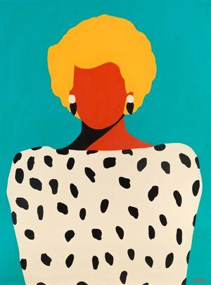 Diana by Coco Davez contemporary artwork