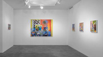 Contemporary art exhibition, Daniel Gordon, Green Apples and Boots at Huxley-Parlour, London