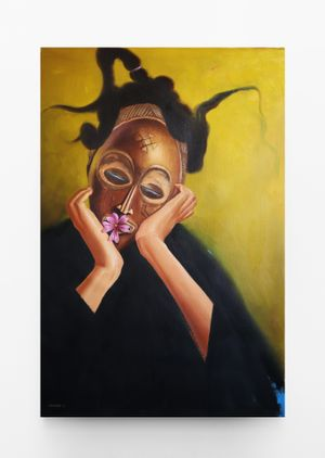 Songs of Asase Yaa 2 by Mfundo Mthiyane contemporary artwork