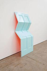 Peacenik (Afterglow) by Jim Lambie contemporary artwork sculpture