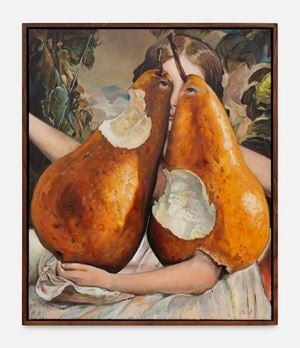 Blood, sweat and pears by Thomas Lerooy contemporary artwork