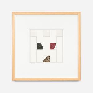 3 carrés incomplets, nov. 10 by Léon Wuidar contemporary artwork