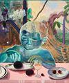 Celestial diners II by Ndidi Emefiele contemporary artwork 1