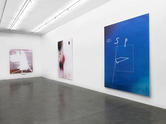 Exhibition view: Jeff Elrod, Simon Lee Gallery, London (8 September–21 October 2017). Courtesy Simon Lee Gallery, London.