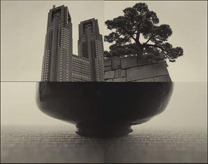 Edo Castle by Keiichi Ito contemporary artwork