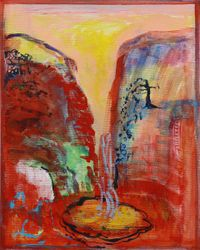 Painting 5 by Brenda Nightingale contemporary artwork painting