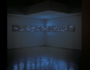 Changing Time with Changing-Flower by Tatsuo Miyajima contemporary artwork