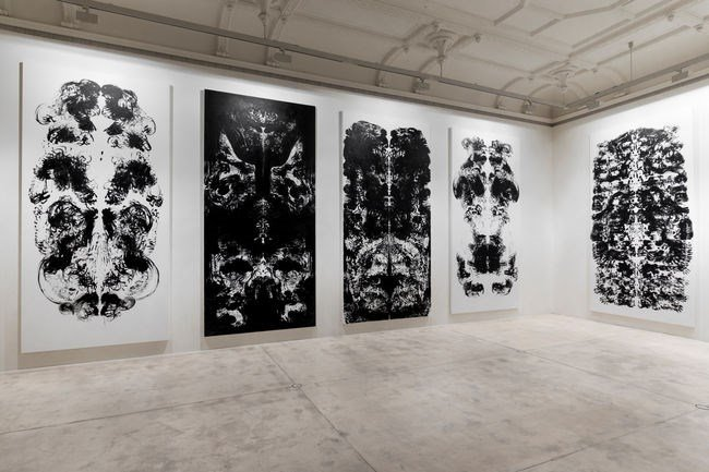 Exhibition view: Mark Wallinger, Upside Down Inside Out Back to Front, Galerie Krinzinger (2 May–15 June 2019). Courtesy Galerie Krinzinger.