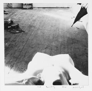 On Being an Angel, Providence, Rhode Island by Francesca Woodman contemporary artwork