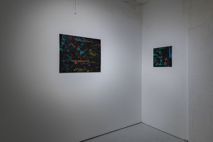 Exhibition view: Alice Anderson, Hyperlinks, KÖNIG GALERIE, London (13 April–22 May 2021). Courtesy KÖNIG GALERIE. Photo: Damian Griffiths.