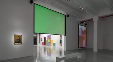 Contemporary art exhibition, Mike Kelley, Timeless Painting at Hauser & Wirth, 22nd Street, New York
