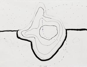 Hoffnungsloser Sand, #45 by Jürgen Partenheimer contemporary artwork