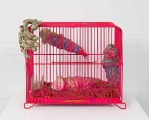 Coelacanth by Tetsumi Kudo contemporary artwork