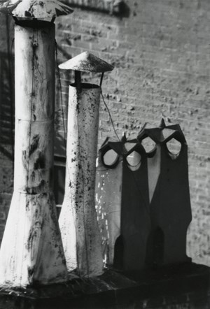 Owl Series (Chimneys), New York by André Kertész contemporary artwork