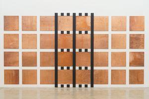 New grids: baixo-relevo - DBNR nº 9 by Daniel Buren contemporary artwork sculpture