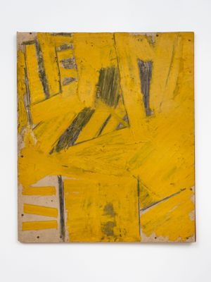 Painting on Cardboard by Gustav Metzger contemporary artwork