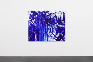 Double Fly Klein Blue 4 by Double Fly Art Center contemporary artwork
