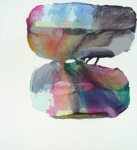 Bling (Woo Woo) by Marie Le Lievre contemporary artwork painting, works on paper