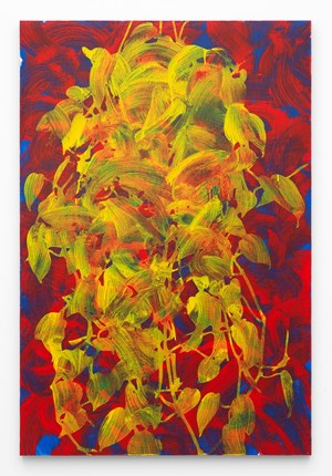 Philodendron (Red Blue Yellow) by Jonathan Horowitz contemporary artwork