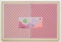 I climbed the cloud by Jordan Nassar contemporary artwork mixed media, textile