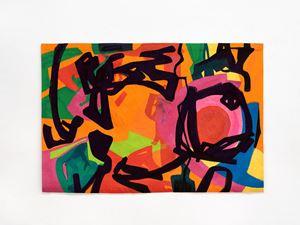 Danse nocturne by Etel Adnan contemporary artwork