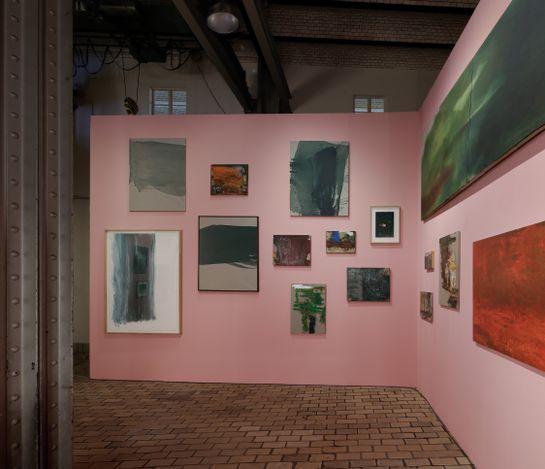 Exhibition view: Cabrita,I (still) love the smell of oil color in the morning, Kewenig, Berlin, (28 April–10 July 2021). © Cabrita. Courtesy Kewenig. Photo: Lepkowski Studios, Berlin.