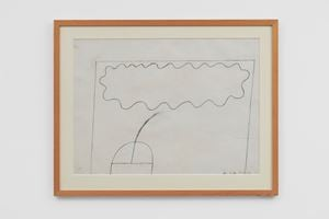 Untitled Field Drawing 22.1.63 by Bob Law contemporary artwork