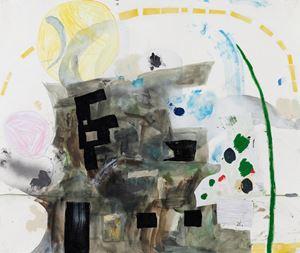 面具和羽毛 Mask and Feather by Lin Yi Hsuan contemporary artwork