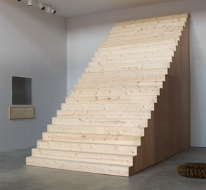 Stairs (These Stairs Can Be Climbed) by Alice Aycock contemporary artwork