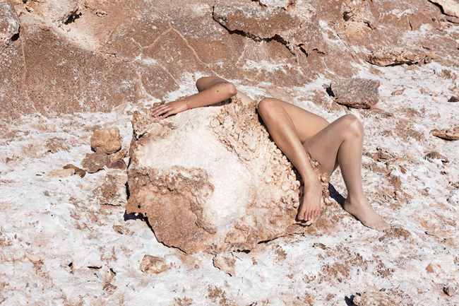 Mineral growth by Honey Long & Prue Stent contemporary artwork