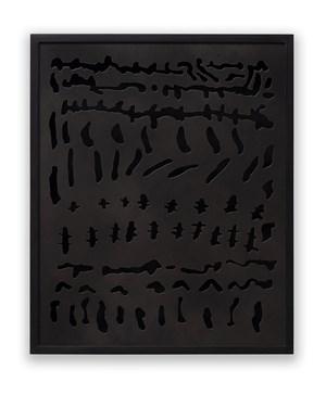 Untitled, from Escarificações (Scarifications) series by Anna Maria Maiolino contemporary artwork