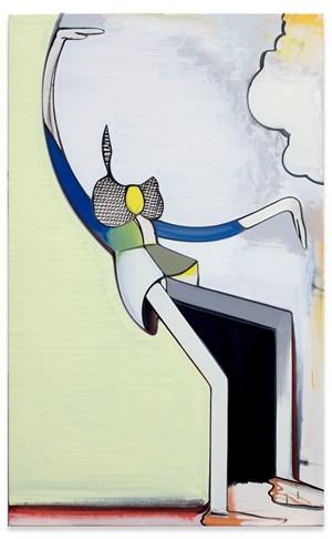 Der Honigdieb by Thomas Scheibitz contemporary artwork