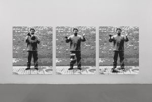 Dropping a Han Dynasty Urn in Lego by Ai Weiwei contemporary artwork sculpture