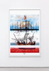 The Saint Mary by Evan Trine contemporary artwork print