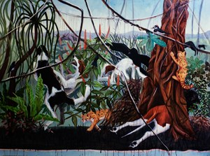 Let Dead Dogs Die (I Hope Not) by Bree Jonson contemporary artwork