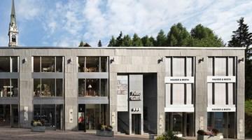 Hauser & Wirth contemporary art gallery in St. Moritz, Switzerland
