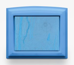 Blue Reticle by Matthew Barney contemporary artwork