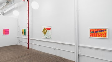 Contemporary art exhibition, Corita Kent, Works from the 1960s at Andrew Kreps Gallery, New York
