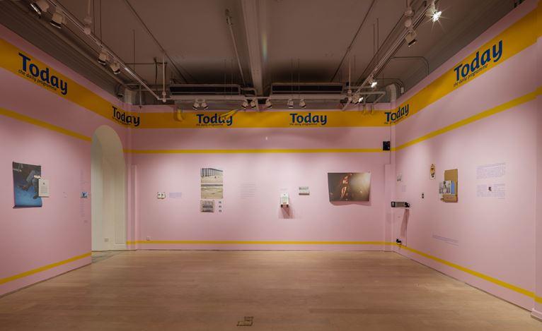 Exhibition view of Annals of Floating Island, 2016 at Hanart TZ, Hong Kong. Photo: Kitmin Lee