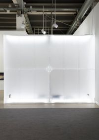 Wall For The Bride by Philippe Parreno contemporary artwork installation