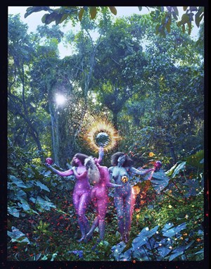 Praise! by David LaChapelle contemporary artwork