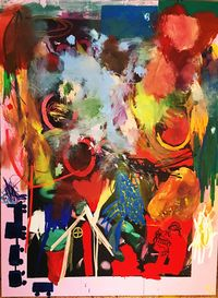 All my things in a Box by Jannis Varelas contemporary artwork painting