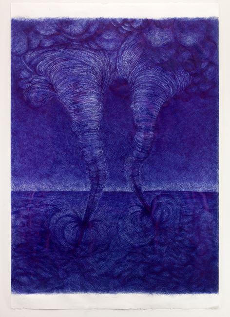 Berlin/ Tornado's - (III) by Jan Fabre contemporary artwork