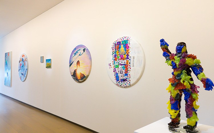 Exhibition view: Group Exhibition, Over the Rainbow, Eslite Gallery, Taipei (1–31 March 2019). Courtesy Eslite Gallery.