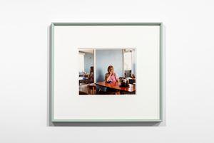 Café Waitress, John's Café, Sandy, Bedfordshire by Paul Graham contemporary artwork