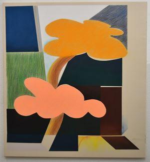 Untitled (Orange Tree) by Stelios Karamanolis contemporary artwork